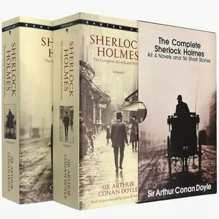 The Complete Sherlock Holmes - All 4 Novels and 56 Short Stories