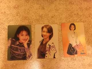 梁詠琪 簽名 2R yes card 張 $20一張