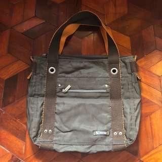 Bench Water Resistant Casual Green Shoulder Bag