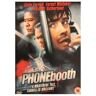 DVD - PHONEBOOTH (ORIGINAL UK IMPORT CODE 2)