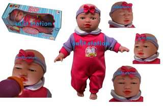 BABY ALIVE TALKING EMOTICON MUSCLE MOVEMENT FACE DOLL