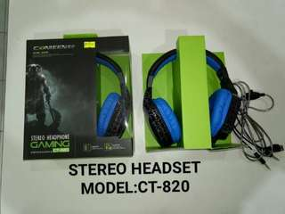 Canieen Stereo HeadPhone Gaming CT-820