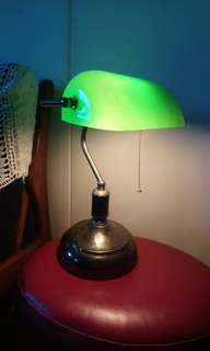 Vintage Lawyer's Table Lamp