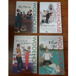 Books by P.G. Wodehouse