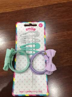 Smiggles hair accessories BN