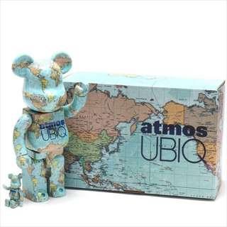 BE@RBRICK Bearbrick Medicom Toy atmos UBIQ