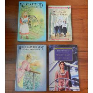 What Katy Did Series by Susan Coolidge