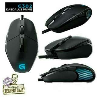 Mouse Gaming Logitech G302 Daedalus Prime MOBA ORIGINAL