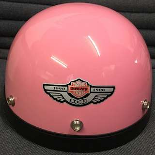 Helmet Pink Half Cut Cutting MHR III 3