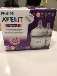 Philips Avent Natural 2x4oz bottle
