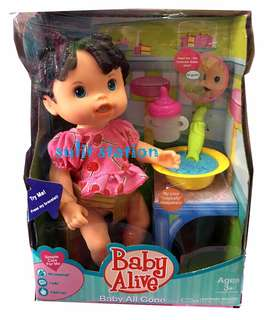 BABY ALIVE ALL GONE Drink Pee DOLL TOYS