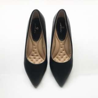 Hexley Black Heels Pumps