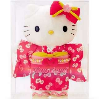 ❤AUTHENTIC BRAND NEW IN BOX❤🌹LIMITED EDITION🌹 SANRIO ORIGINAL Hello Kitty Kimono Plush/ Doll/ Toy Collection💋No Pet No Smoker CLEAN Hse💋