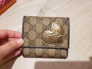 Gucci 銀包 2009情人節限定