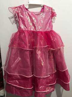 Lalaloopsy Metallic Pink Dress