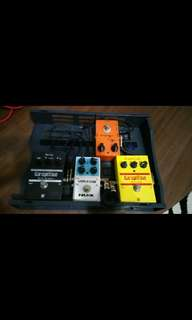 Selling various effects pedal!!!