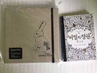 2 Colouring books from Korea