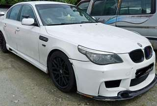 Bmw 523i XL 2.5 lci M5 bodykit Twin exhaust -19 rims -full m6 custom made bodykit -remus quad exhaust system -chip tuning -throttle control