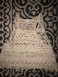 Garage crochet top