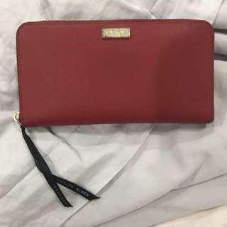 KATE SPADE red wallet