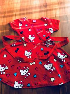 Red Hello Kitty Dress