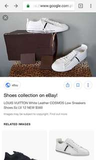 Original Louis Vuitton Cosmos Sneakers