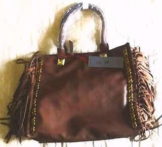 💐Sale F & F Mode Leather Bag