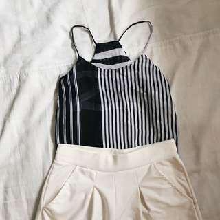 (BUNDLE) round top+culottes