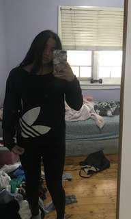 Adidas jumper size 8