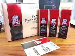 🇰🇷正官庄EVERYTIME紅蔘精 (10ml x 30包)