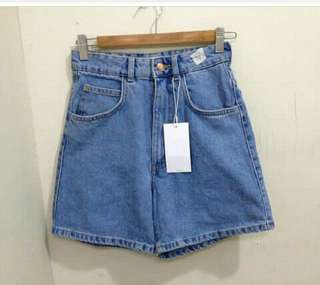 Zara hw mom shorts