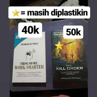 Buku impor dan novel