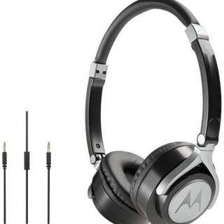 Motorola Pulse 2 Headphone Black Demo Unit
