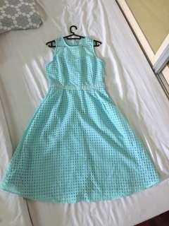 Something Borrowed Midi Dress