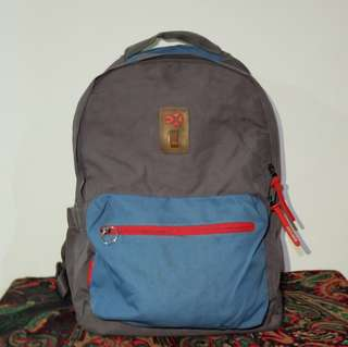 export grey backpack / ransel