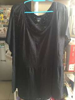 PLUS SIZE Torrid Top. Size 5. Worn once