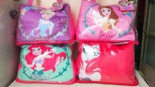 迪士尼 Disnep 公主係列兩用頸枕