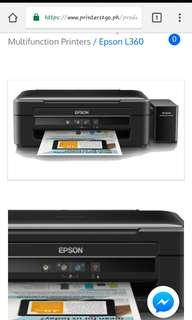 Epson l360 brand new 5k php rush