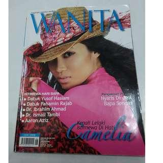 Wanita Jun 2008 - cover Camelia