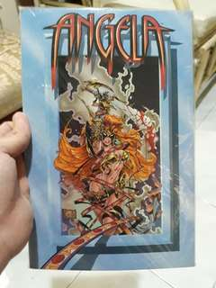 ANGELA graphic novel/ comic book/ comics