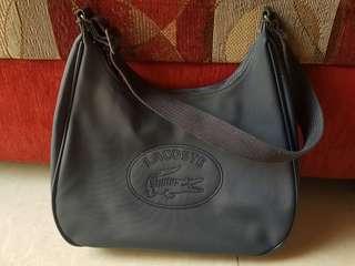 Preloved Lacoste Hobo Bag
