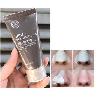 The Face Shop JEJU VOLCANIC LAVA Peel Off Nose Pack