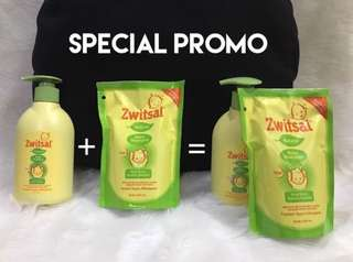 Baby Shampoo 300ml (pump) & 250ml (pouch)
