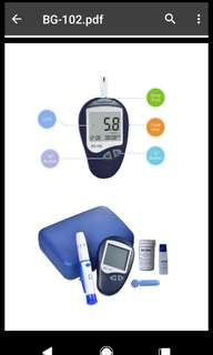 Medical Diabetic Test Strips And Lancets