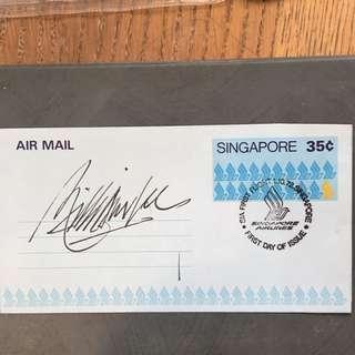 AIR MAIL S'PORE WITH Designer Signature