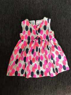 🚚 Carter's Dress / 12 Months