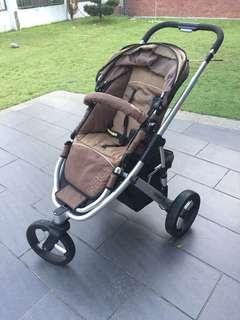 Steelcraft Strider Plus 3 pram stroller