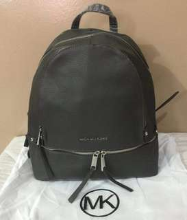 MK - Rhea Medium size Leather backpack