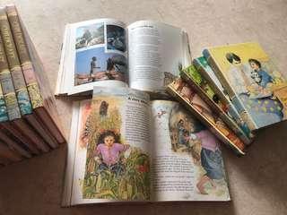 Childcraft Encyclopedia set of 16 books