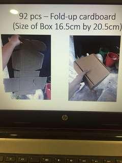 Fold-up Cardboard
